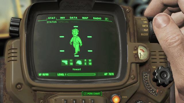 Fallout 4: Neues Video erklärt das Charaktersystem des Endzeit-Rollenspiels