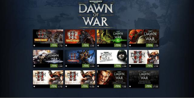 Steam: Warhammer 40k: Dawn of War-Wochenende mit Gratis-Spielzeit und hohen Rabatten