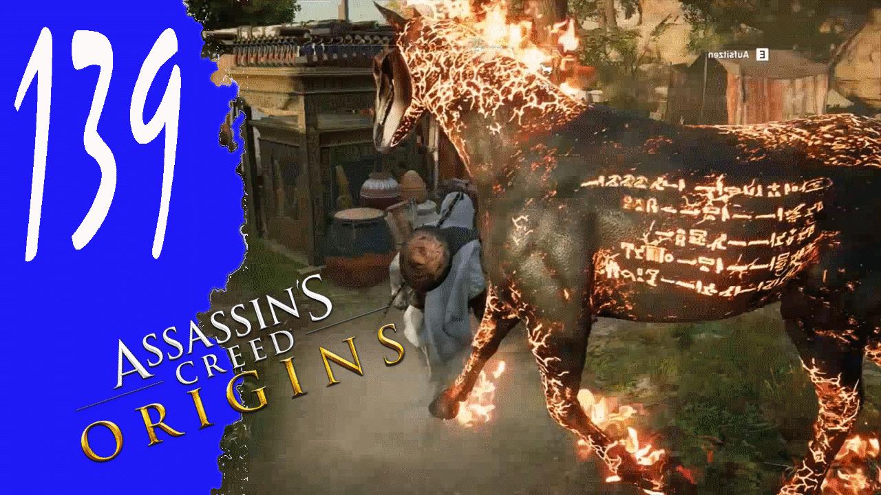 Pferd in Flammen «» Assassin's Creed Origins #139