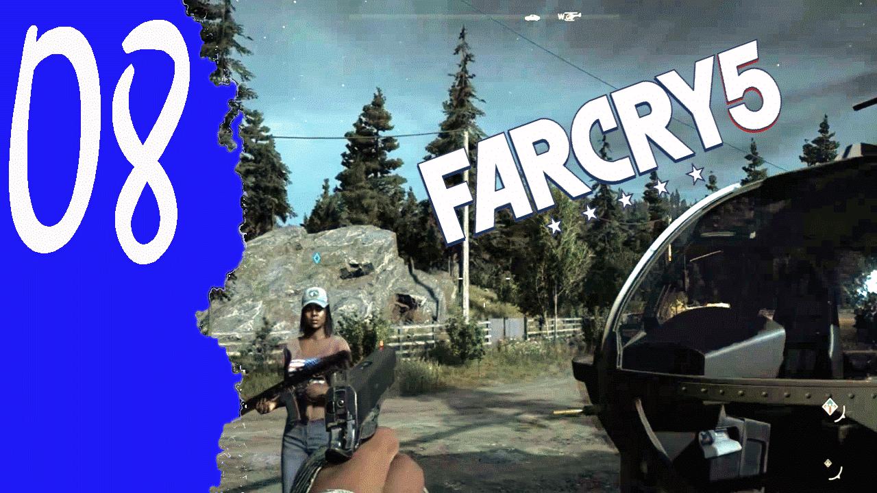 Mit dem Hubschrauber macht es noch mehr Spaß «» Far Cry 5 #008 Walkthrough Ohne Kommentar